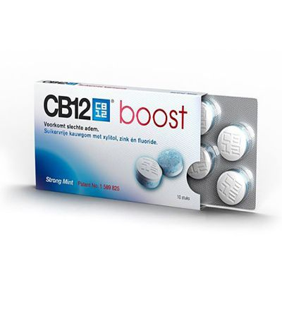 CB 12 boost 10 chicles