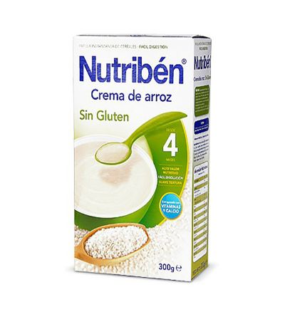 Nutriben crema arroz 300 g