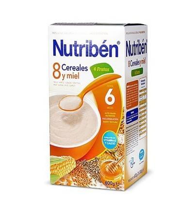 Nutriben 8 cereales miel frutas 600 g