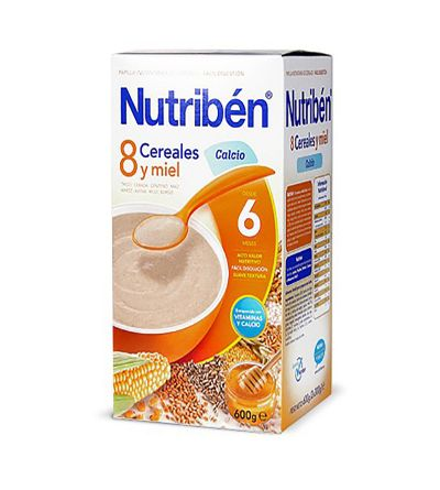 Nutriben 8 cereales miel calcio 600 g