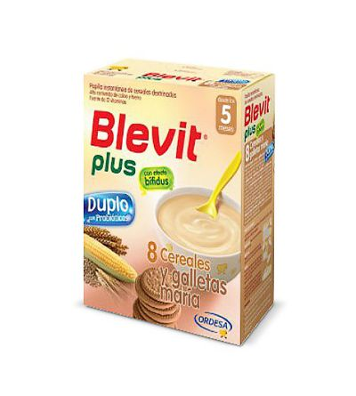 Blevit plus duplo 8 cereales galleta 600 g