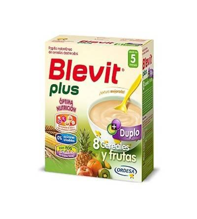 BLEVIT PLUS DUPLO 8 CEREALES Y FRUTAS 350 G 2 U
