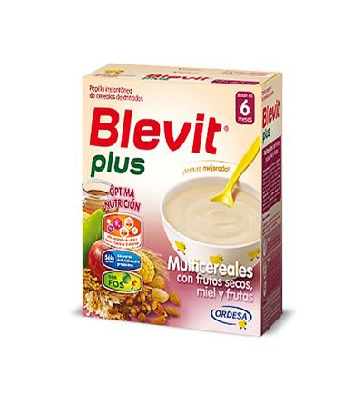 Blevit plus multicereales frutos secos 600 g