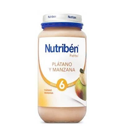 Potitos Nutribén plátano y manzana 250 g
