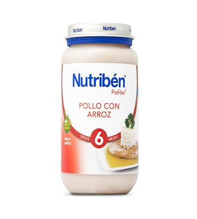 Potitos Nutribén pollo con arroz 250 g