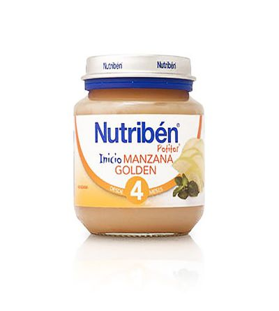 Potitos Nutribén manzana golden 130 g