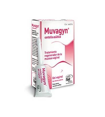Muvagyn centella asiática 8 monodosis x 5 ml