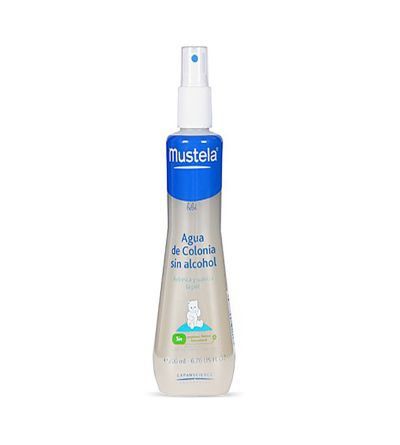 Mustela agua de colonia sin alcohol bebé 200 ml