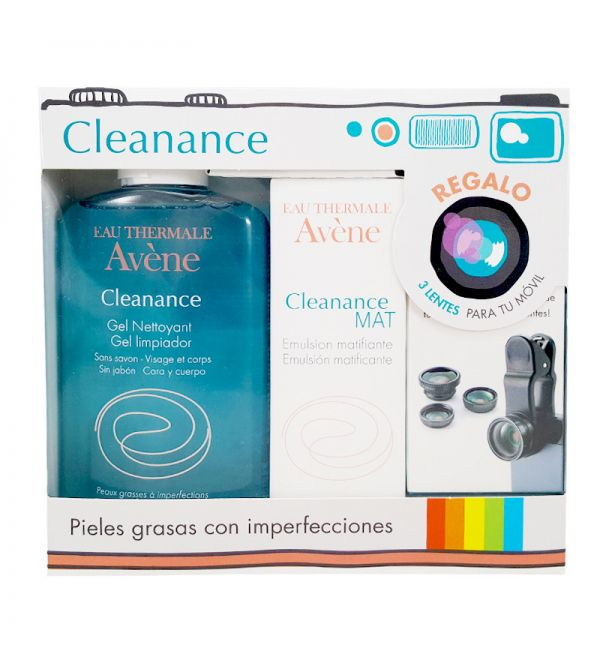 AVENE PACK CLEAN MAT+GEL+REGALO
