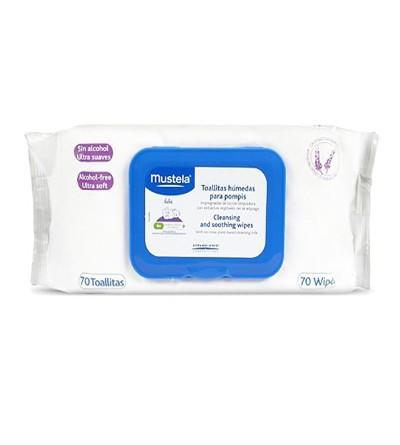 Mustela toalhetes bebé 70 uds