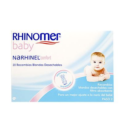 NARHINEL CONFORT RECAMBIO ASPIRADOR 20 BLANDO DESECHABLE