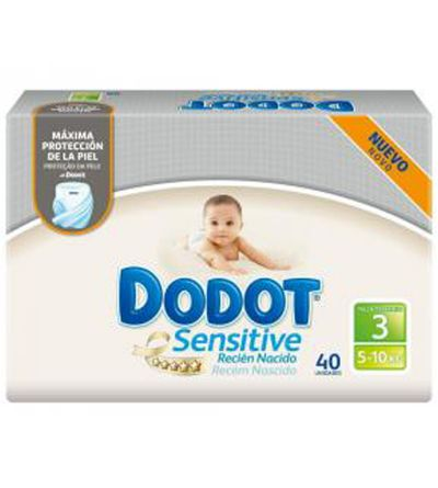 DODOT SENSITIVE T3 5-10KG 40U