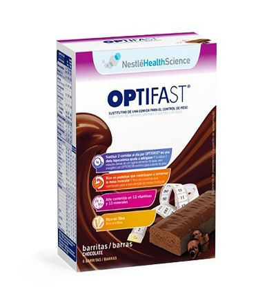 OPTIFAST BARRITAS 70 G 6 U CHOCOLATE