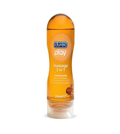 Durex play massage Guarana 2 em 1 gel de massagem e lubrificante 200 ml