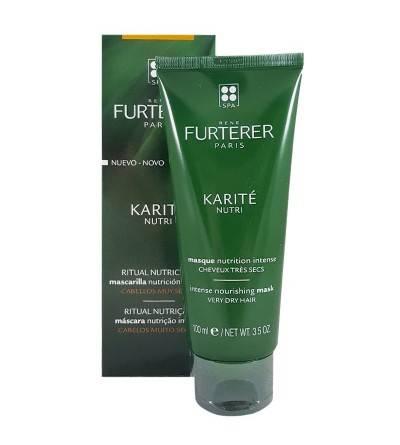 Karité Nutri René Furterer mascarilla intensa 100 ml