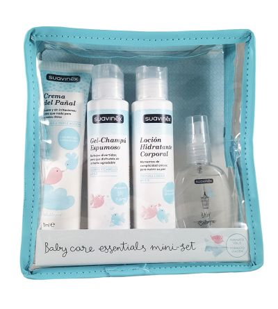 SUAVINEX BABY CARE ESSENTIALS MINI-SET