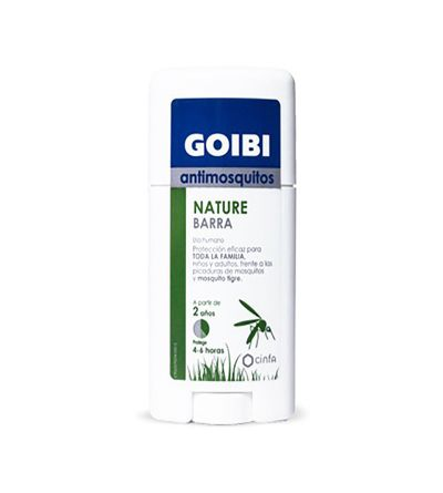 GOIBI ANTIMOSQUITOS NATURE BARRA USO HUMANO REPE 50 ML