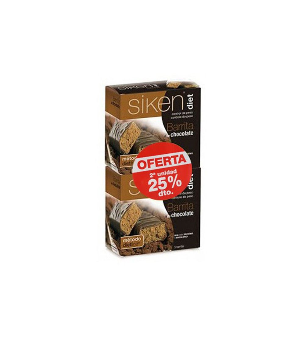 Barritas Siken Diet chocolate 5+5 uds Duplo