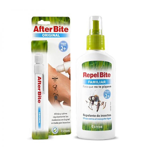 After Bite Original 14 ml + Repel Bite Familiar 100 ml Mosqui Pack