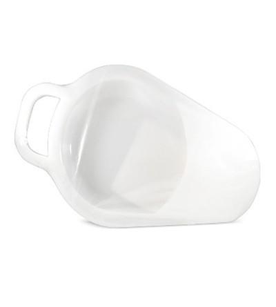 Orinal Joya plástico cuña blanco