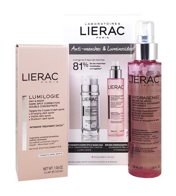 LIERAC LUMINOLOGIE DOBLE CONC D&N 30ML