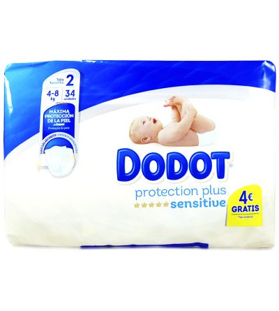 DODOT SENSITIVE T2 4-8KG 34U
