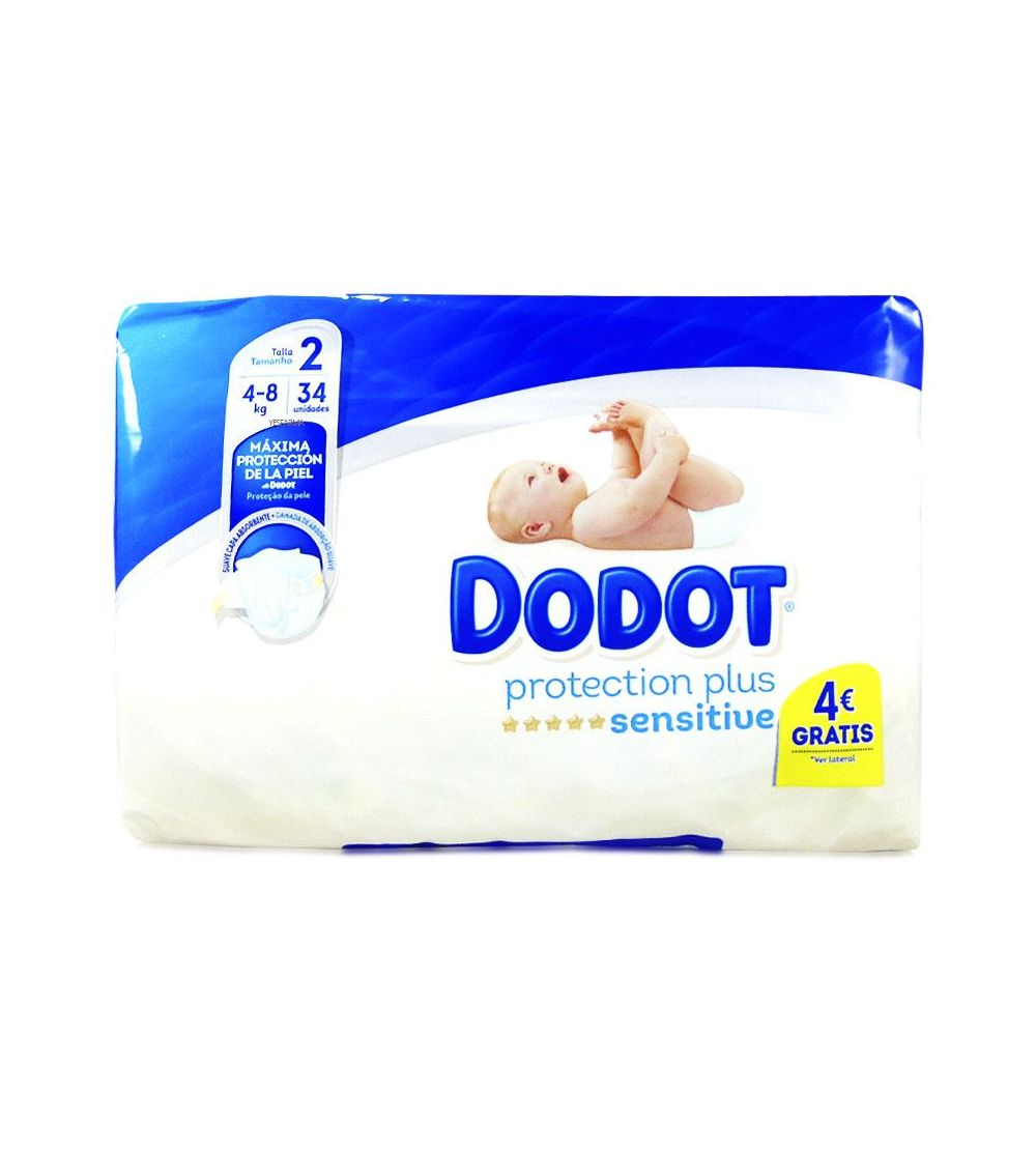 DODOT SENSITIVE T2 3-6KG 34U