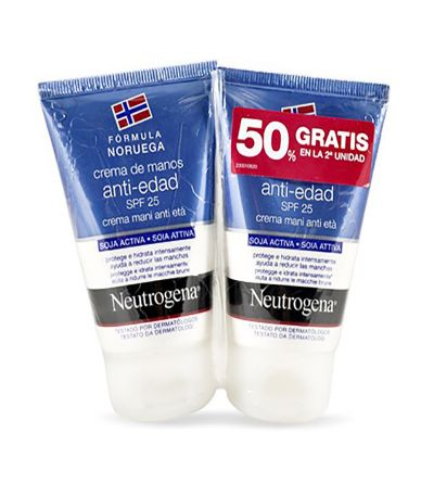 Neutrogena crema de manos antiedad 50 ml Duplo