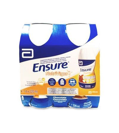 Ensure Nutrivigor 4 botellas 220 ml