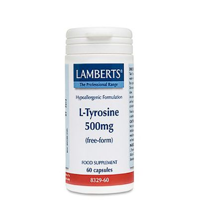 Lamberts L-tirosina 500 mg 60 comp