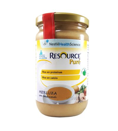Resource pure  merluza bechamel 300 g