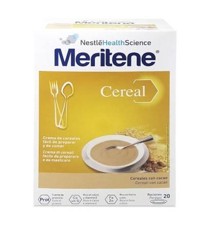 MERITENE CEREAL CEREALES CON CACAO 300 G 2 BOLSAS