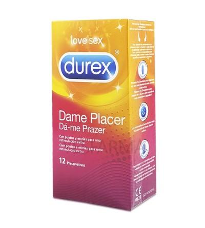 PROFILACTICOS DUREX PLEASUREMAX 12 U