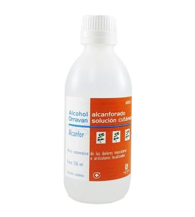 ALCOHOL ALCANFORADO ORRAVAN SOLUCION 250 ML