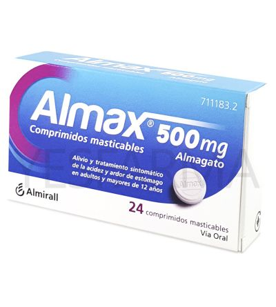 ALMAX 500MG 30 COMP