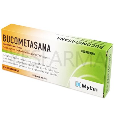 Bucometasana comprimidos