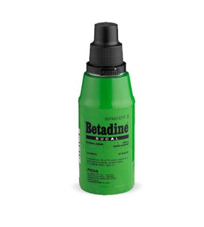 BETADINE BUCAL 125 ML