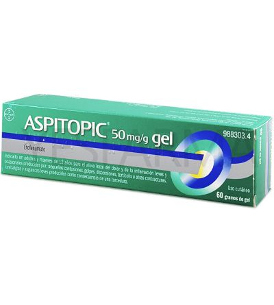 Aspitopic 5% gel 60 gramos
