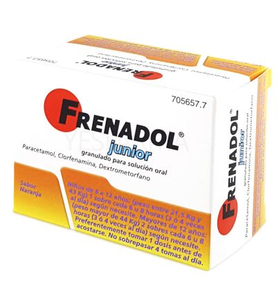 FRENADOL JUNIOR 10 SOBRES