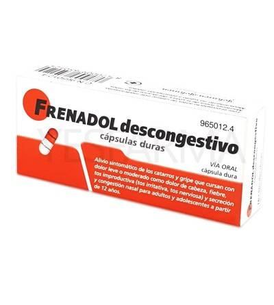 FRENADOL PS 16 CAPS