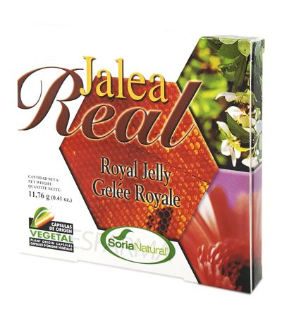 SORIA NATURAL JALEA REAL 24 CAPSULAS