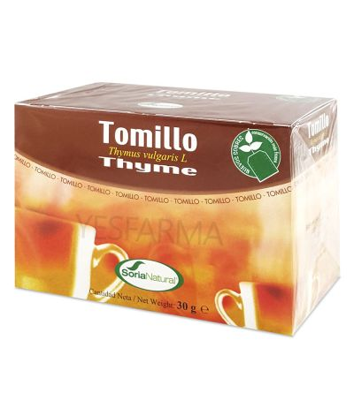 SORIA NATURAL TOMILLO 20 INFUSION