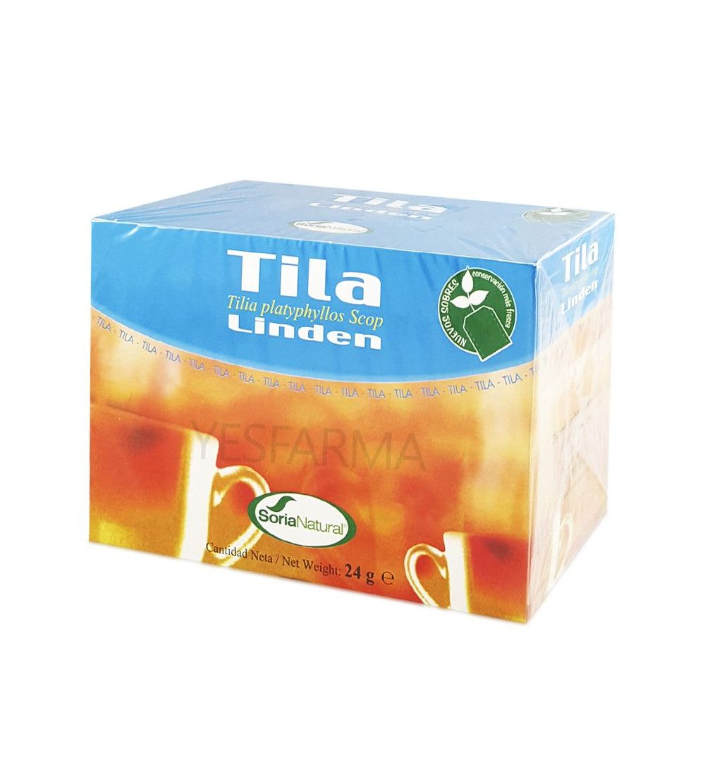 SORIA NATURAL TILA 20 INFUSION