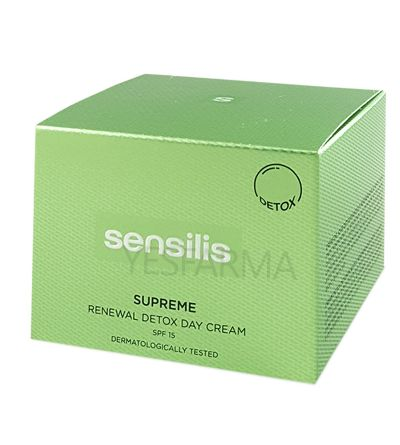 Sensilis Supreme Renewal Detox Day Cream 50ml