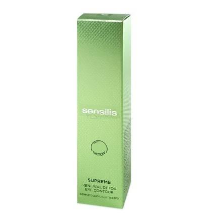 Sensilis Supreme Renewall Detox contorno dos olhos 15ml