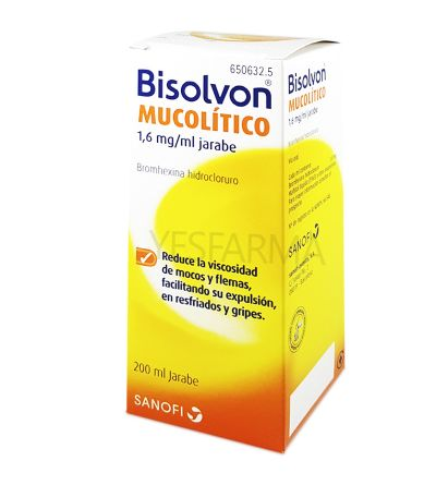 Bisolvon mucolítico 8 mg/ 5 ml 200 ml