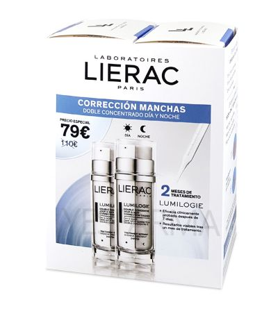 LIERAC LUMILOGIE CONCENTRADO ANTIMANCHAS PACK 2 MESES