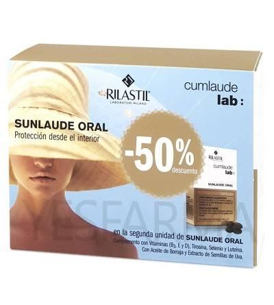 Rilastil Sunlaude oral 30 + 30 cápsulas Duplo