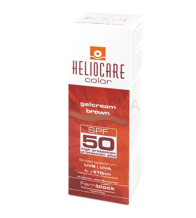 Heliocare gel crema tono brown 50 ml
