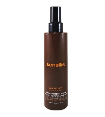 Sensilis Sun Secret Superbronzing water potenciadora del bronceado 200 ml